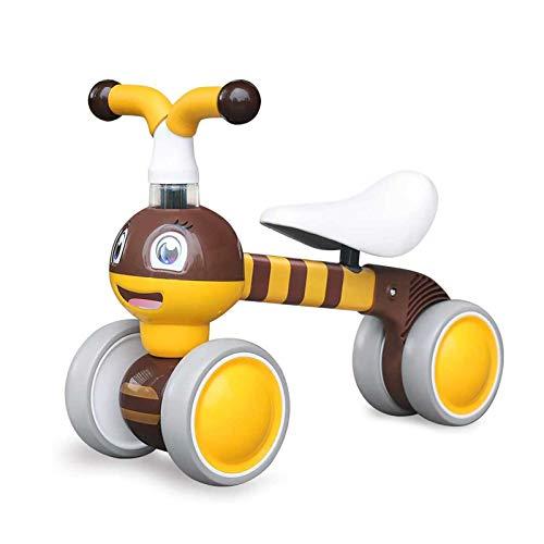 YGJT Bicicletta Senza Pedali per Bambini 10 - 36 Mesi, Tricicli Neonati Corridori Giocattoli Regali per Bambini Bicicletta Senza Pedali Bambino (Piccola Ape)