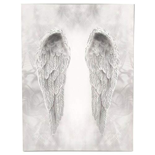 Online Street Glitter Angel Wings Lienzo decorativo decorativo para pared