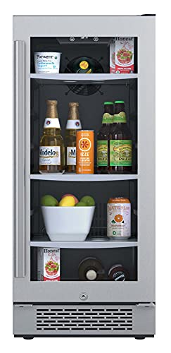 "Avallon ABR151SGRH 86 Can 15"" Built-In Beverage Cooler ..."