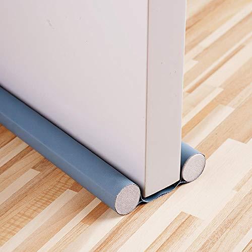 Burlete Bajo Puerta Draught Stoppers Door Draft Stopper Foldable Sound Proof Noise Seal Strip Dust Proof Under Door Floor Weather Stripping-3 Pack
