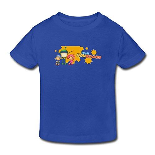 mjensen Toddler's Funny Team Umizoomi T-Shirts Size 5-6 Toddler RoyalBlue