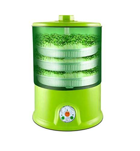 KINGDUO Fait Maison Multifonctionnel Germes De Haricots Machine 220V Automatique 1.5 L 3-Couches Pousses De La Machine