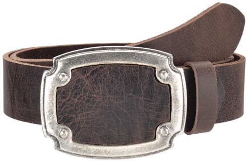 MGM - Ceinture Mixte - Cool Jeans, 6356 - Marron (dkl.braun geflammt 176-2) - FR : 100 (Taille fabricant : 100 cm)