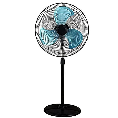 CHNG Fan Industrial del Pedestal del Metal de 20 Pulgadas, Fan Derecha oscilante de Alta Velocidad, 3 velocidades