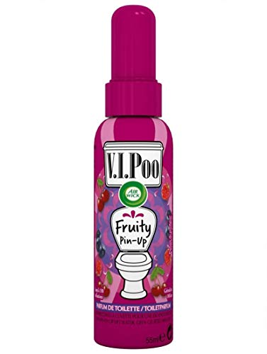 Air Wick Desodorisant WC Spray V.I.Poo Anti Odeur Parfum Fruity Pin Up 55 ml