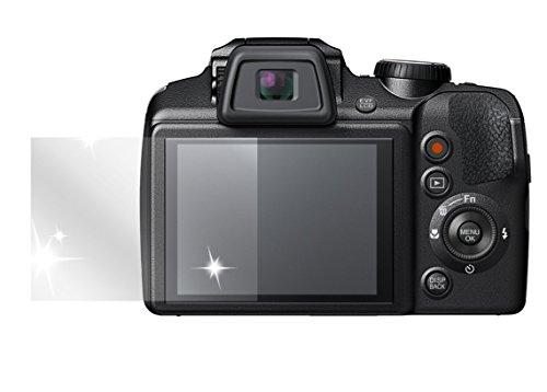 dipos I 6X Schutzfolie klar kompatibel mit Fujifilm Finepix S9900W Folie Displayschutzfolie