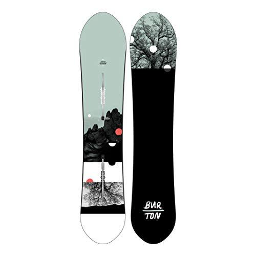 Burton Day Trader - Tabla de snowboard para mujer, talla 154, color blanco