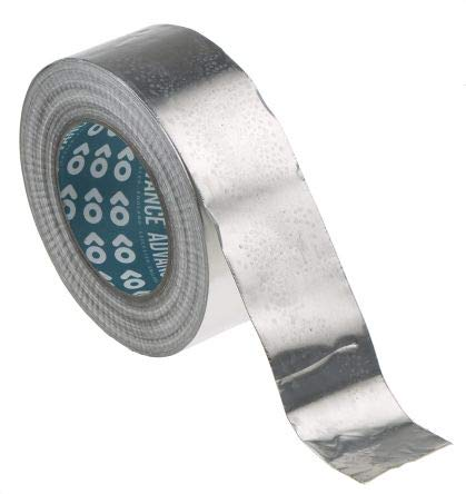 Advance Tapes AT506 Aluminium-Klebeband, nicht leitend, 0,09 mm, B 50 mm, L 50 m