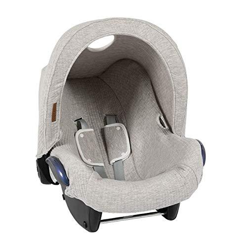 LITTLE DUTCH TE40530130 Verdeck Babyschale 0+ pure grau