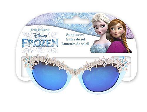 Disney Frozen Premium 2 Forma con Hielo Gafas de Sol Montañismo, Alpinismo y Trekking Infantil, Juventud Unisex, Multicolor (Multicolor), Talla Única