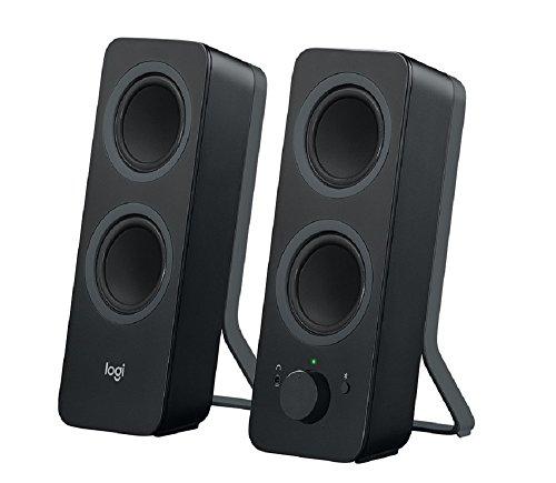 Logitech Z207 Sistema de Altavoce Bluetooth para PC, Sonido Estéreo, 10W de...