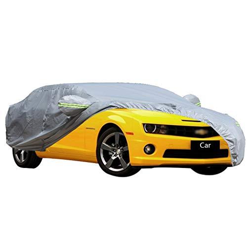 Couverture de voiture Compatible avec la voiture de sport Chevrolet Camaro épaississant la couverture de voiture de protection solaire de protection contre la poussière de protection solaire de voitur