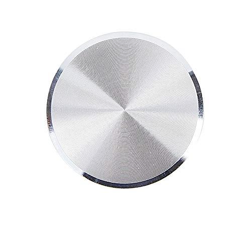 Alecony Metallplatte Aufkleber Ersetzen für Magnet KFZ Handy Halterung,Metallplättchen selbstklebend Handyhalterung Metall Platte für Handy mit Klebefolie für KFZ Handyhalter (Silber)