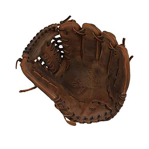 SHOELESS JOE 11 1/2' Proffesional Series Modified Trap Baseball Glove, Right Hand Throw