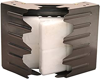 UST Folding Stove with Fuel Cubes and Lightweight, Durable Construction for Backpacking, Camping, Hunting, Emergency and O...