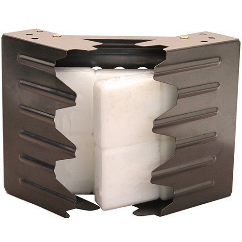 UST Folding Stove with Fuel Cubes and Lightweight, Durable Construction for Backpacking, Camping, Hunting, Emergency and Outdoor Survival