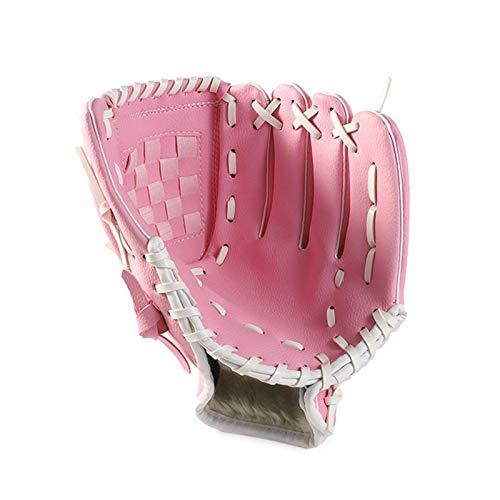 Luva de beisebol Adaskala de 12,5 polegadas Jarro de softbol PU e equipamento de prática de softbol para esportes ao ar livre