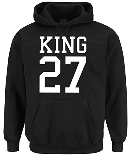 King 27 Hooded-Sweater Black-S