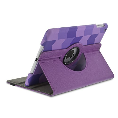 Aduro ROTATA 360 Degrees Rotating Case Cover Folio w/Stand for Apple iPad Mini / 2/3 (Geo)