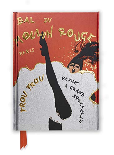 Rene Gruau: Bal du Moulin Rouge (Foiled Journal) (Flame Tree Notebooks)