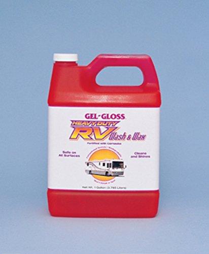 TR Industries WW128 Gel Gloss Heavy Duty RV Wash and Wax - 1 Gallon