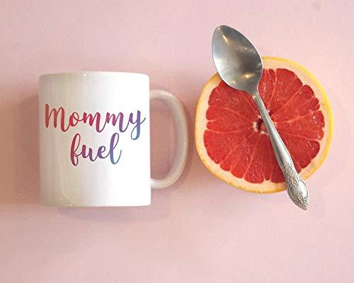 Taza de café Mommy Fuel Mom, taza de café para mamá, taza de café para mamá, taza de café divertida, regalo para mamá, regalo para mamá, regalo para nueva mamá