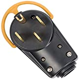 Arcon 19186 Cul Listed Replacement Generator Power Plug, 50-Amp