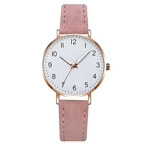 30mmWomen S Relojes Nuevas Mujeres Relojes Simple Vintage Pequeño Reloj Correa Casual Deportes Reloj de Pulsera Vestido Relojes de Pulsera