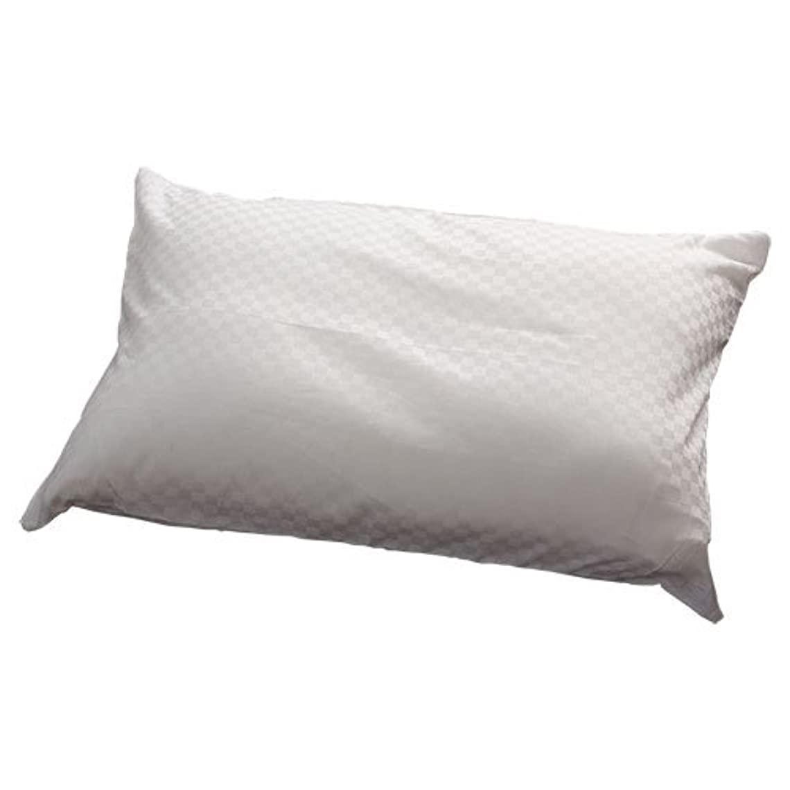 立ち向かうバンカーリードサテン 枕カバー チェック柄 ピュアホワイト A029-M013WH