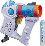 NERF Microshots Overwatch Mei Blaster -- Includes 2 Official Elite Darts -- for Kids, Teens, Adults