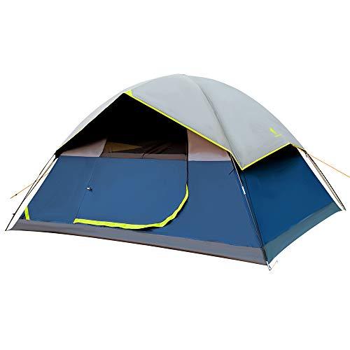 GEERTOP Camping Zelt Wasserdicht Ultraleicht Zelte 3-4 Personen, Campingzelt 3-4 Saison,Winddicht &Wasserdicht für Trekking, Festival, Camping und Outdoor Backpacking Reisen UV-Schutz