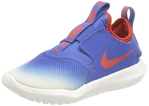 Nike Flex Runner, Scarpe da Corsa, Bambino, Blu (Game Royal/University Red-Photon Dust), 23.5 EU