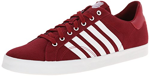 K-Swiss Herren Belmont SO T Low-Top, Rot (Biking RED/White 622), 44.5 EU