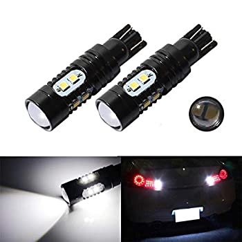 CENTAURUS 906 912 921 T10 T15 LED BackUp Reverse Lights Extremely Bright 50W CREE Chips High Power 6000K Car Dome Map Door Courtesy License Plate Lights Replacement for The Halogen Bulbs  Set of 2
