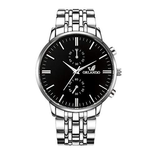 Montres-Bracelets pour Hommes 2020 Montres de Luxe pour Hommes Montres-Bracelets Hommes d'affaires Horloge Masculine Montre en Acier Inoxydable Matériel