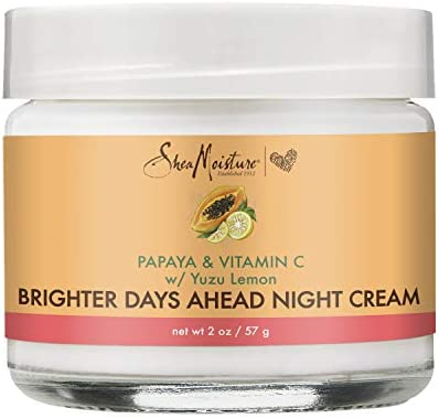 Sheamoisture Night Cream For Dull Uneven Skin Papaya and Vitamin C Skin Care Moisturizer 2 oz product image
