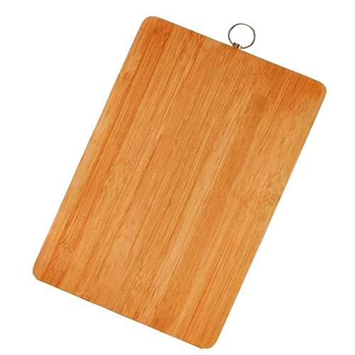 Planche à découper en Bambou Biologique AzEazy. Idéal pour la Viande, Les légumes et Le Fromage. Coupe Professionnelle et Domestique - Servez Le Pain et coupez Les Aliments avec Style