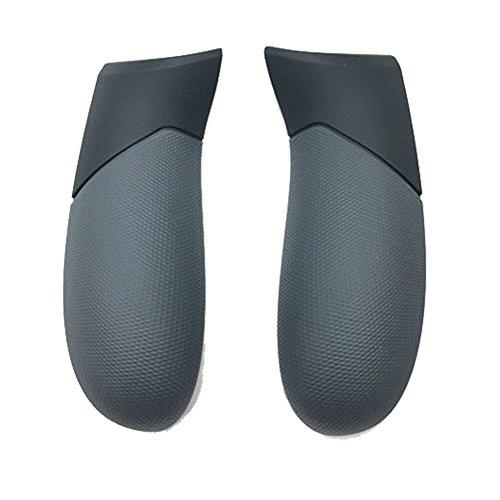Meijunter Remplacement Poignée arrière poignée Gauche droite tableau de bord 1 paire Handle Grip pour Xbox One Elite contrôleur(Noir)