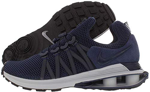 Price comparison product image Nike Men's Shox Gravity Ankle-High Running,  Obsidian / Midnight Navy,  Size 9.5