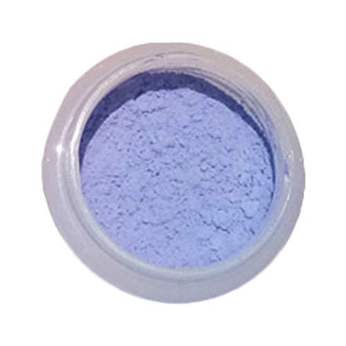 MILISTEN 2 Stücke Thermochrome Uv-Aktivierte Pigmentpulver Wärmeempfindlichen Farbwechsel Pulver für Schleimfarbe Harz Epoxy Nagel (Weiß Ändern Blau)