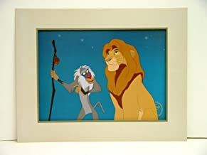 The Lion King Disney Store Exclusive Commemorative Lithograph 11 x 14 Inches