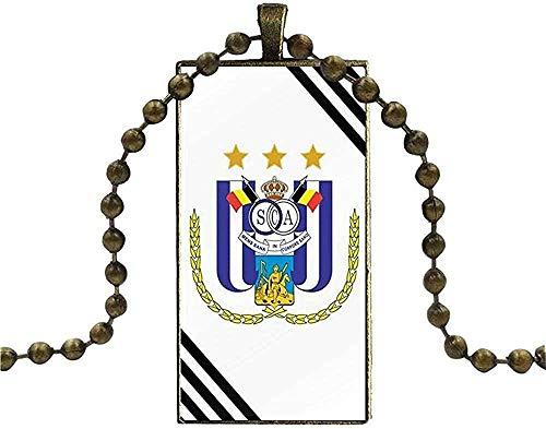 quanjiafu Halskette Für Frauen Männer Party Geschenk Halskette Mode Lange Kette Mit Rechteck Halskette Schmuck Marokko Art Deco Fliesen Karte