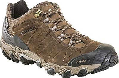 Oboz Men's Bridger Low B-Dry Waterproof Hiking Shoe