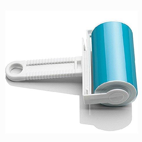 Brosse adhésive lavable pour vêtements, Bluelans®, bleu, Taille unique