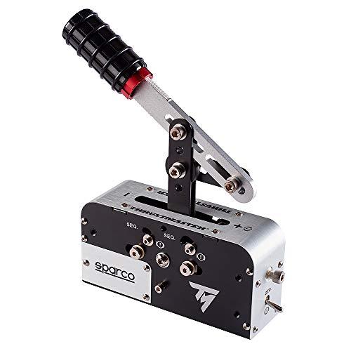 Thrustmaster TSS HANDBRAKE SPARCO Mod + le frein à main progressif et boîte de vitesses séquentielle Sparco : maîtrisez la technique du drift ! compatible PC / PS4