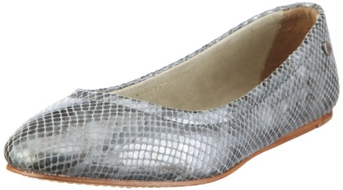 Mexx Brave - Plain Bellerina F7RE0028, Damen, Ballerinas, Grau (GREY 37), EU 36