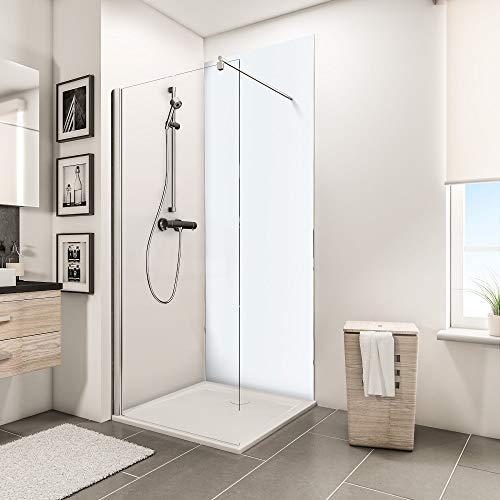 Schulte Deco-Design Kombi weiß, 210 x 90 cm, 3 mm Aluminium-Verbundplatte, Wandverkleidung als fugenfreier Fliesenersatz