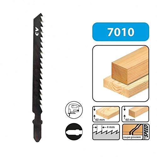 LEMAN 701005 - Blister 5 hojas de sierra de calar 75 mmx4.0