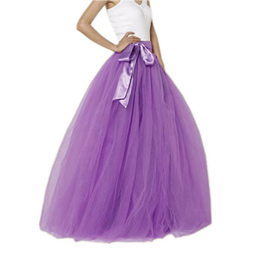 EllieHouse Womens Long Tutu Party Evening Tulle...