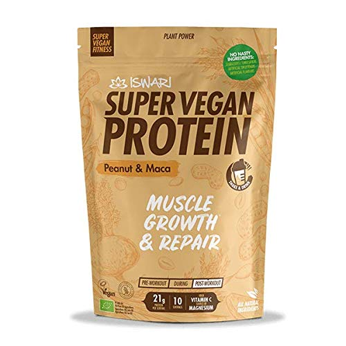 ISWARI SVF Protein Peanut & MACA 350 gr, Neutro, Estándar